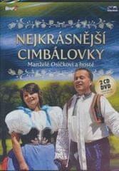 Manželé Osíčkovi: Nejkrásnější cimbálovky/2CD+DVD