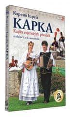 Kapesní kapela kapka: Kapka vojenských písniček/CD+DVD