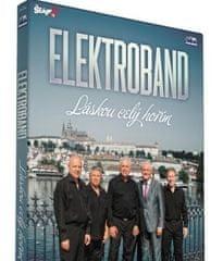 Elektroband: Láskou celý hořím/CD+DVD