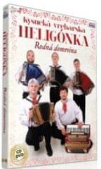 Kysucká Vrchárska Heligónka: Rodná Domovina (CD+DVD, 2017)