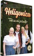 Heligonica: Tak Sa Mi Prisnilo (CD+DVD, 2017)