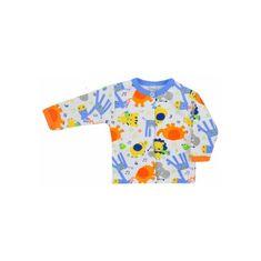 BOBAS FASHION Dojčenský kabátik Bobas Fashion Zoo modrý 68 (4-6m) Modrá