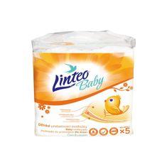 LINTEO Prebaľovacie podložky Linteo Baby 5ks Podľa obrázku
