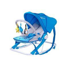 Caretero Detské ležadlo CARETERO Aqua blue Modrá