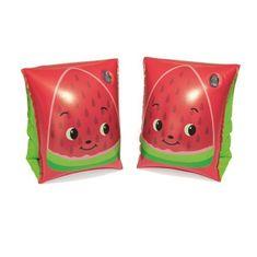 Bestway Detské nafukovacie rukávniky Bestway fruit red Červená