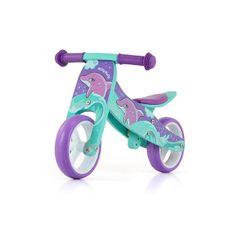 MILLY MALLY Detské multifunkčné odrážadlo bicykel Milly Mally JAKE Dolphin Modrá