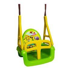 Tega Detská hojdačka 3v1 safari Swing green Zelená