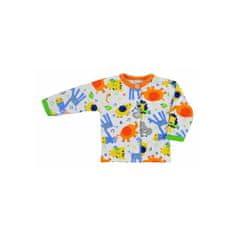 BOBAS FASHION Dojčenský kabátik Bobas Fashion Zoo oranžový 80 (9-12m) Oranžová
