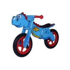 MILLY MALLY Detské odrážadlo-bicykel Milly Mally DINO blue Modrá