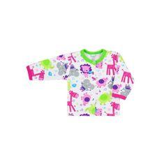 BOBAS FASHION Dojčenský kabátik Bobas Fashion Zoo zelený pre dievčatá 68 (4-6m) Zelená