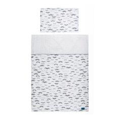 BELISIMA 2-dielne posteľné obliečky Belisima Little Man 100/135 sivé Sivá