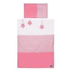 BELISIMA 2-dielne posteľné obliečky Belisima Hviezdička 90/120 ružové Ružová