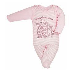 BOBAS FASHION Dojčenská súpravička Bobas Fashion Mestečko ružové 68 (4-6m) Ružová