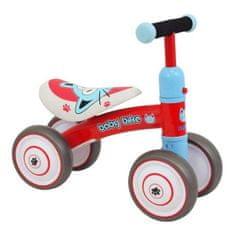 Baby Mix Detské odrážadlo Baby Mix Baby Bike red Červená