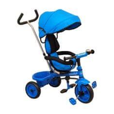 Baby Mix Detská trojkolka Baby Mix Ecotrike blue Modrá