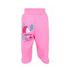 BOBAS FASHION Dojčenské polodupačky Bobas Fashion Ježko ružové 80 (9-12m) Ružová