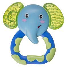 AKUKU Chladiace hryzátko Akuku slon Modrá