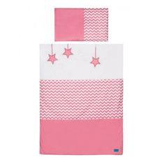 BELISIMA 2-dielne posteľné obliečky Belisima Hviezdička 100x135 ružové Ružová