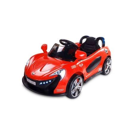 TOYZ Elektrické autíčko Toyz Aero - 2 motory a 2 rýchlosti červené Červená