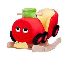 PLAYTO Hojdacia hračka s melódiou PlayTo vláčik Červená