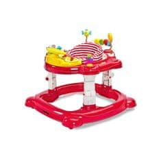 TOYZ Detské chodítko Toyz HipHop 3v1 červené Červená