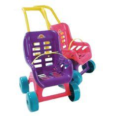 Dohany Kočík pre bábiky - fialový Fialová