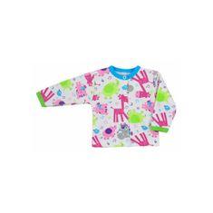 BOBAS FASHION Dojčenský kabátik Bobas Fashion Zoo tyrkysový 62 (3-6m) Tyrkysová