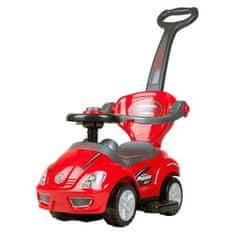 BAYO Detské jazdítko 3v1 Bayo Mega Car red Červená