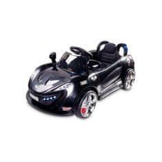 TOYZ Elektrické autíčko Toyz Aero - 2 motory a 2 rýchlosti čierne Čierna