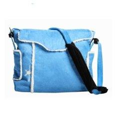WALLABOO Prebaľovacia taška na kočík Wallaboo Modrá