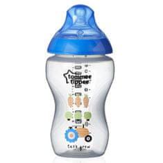 Tommee Tippee Fľaša Tomme Tippee C2N 340 ml 2ks modrá Modrá