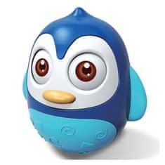 Baby Mix Kývajúca hračka Baby Mix tučniak blue Modrá