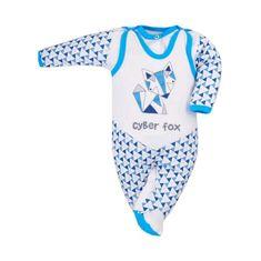 BOBAS FASHION 2-dielna dojčenská súprava Bobas Fashion Baby Beti modrá 74 (6-9m) Modrá