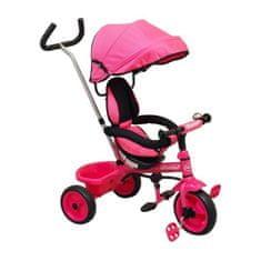 Baby Mix Detská trojkolka Baby Mix Ecotrike pink Ružová