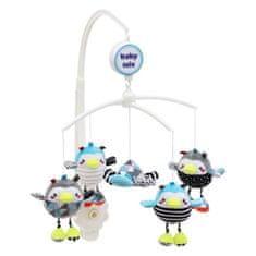 Baby Mix Kolotoč nad postieľku Baby Mix Tučniaky Multicolor