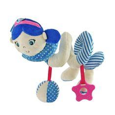 Baby Mix Hračka na postieľku Špirála Baby Mix námorník dievča blue Modrá