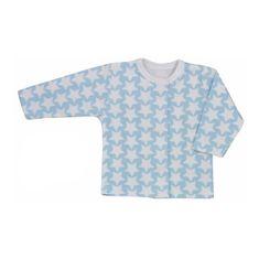 KOALA Dojčenský kabátik Koala Magnetky modrý s hviezdičkami 68 (4-6m) Modrá
