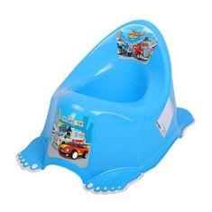 Tega Hrajúci detský nočník protišmykový autíčku modrý Modrá