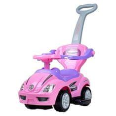 BAYO Detské Jazdítko 3v1 Bayo Mega Car pink Ružová