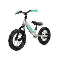 TOYZ Detské odrážadlo bicykel Toyz Oliver grey Sivá