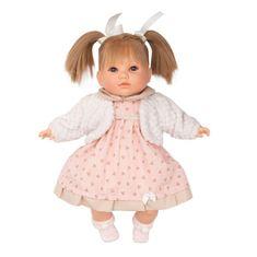 Berbesa Luxusná hovoriaca detská bábika-dievčatko Berbesa Natálka 40cm Ružová