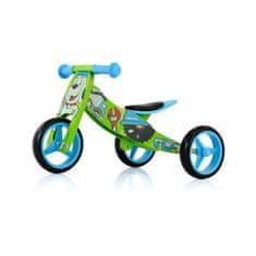 MILLY MALLY Detské multifunkčné odrážadlo bicykel Milly Mally JAKE Bob Modrá