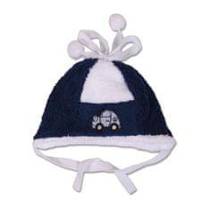 YO COMPANY Zimná čiapočka 74 (6-9m) Modrá