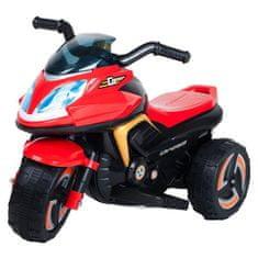 BAYO Elektrická motorka BAYO KICK red Červená