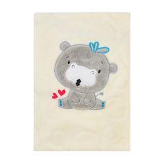 KOALA Detská deka Koala Animals smotanová Smotanová