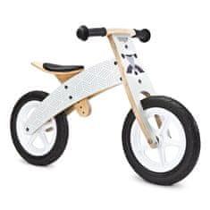 TOYZ Detské odrážadlo bicykel Toyz Woody grey Sivá