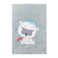 KOALA Detská deka Koala Animals sivá Sivá