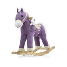 MILLY MALLY Hojdací koník s melódiou Milly Mally Pony fialový Fialová