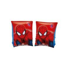 Bestway Detské nafukovacie rukávniky Bestway Spider Man Červená