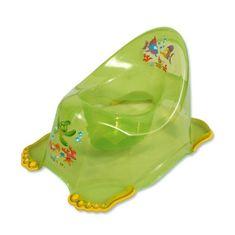 Tega Detský nočník protišmykový zelený Zelená